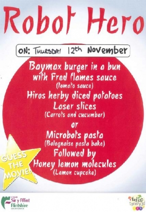 12th November 2015 - Theme Day Menu