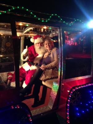 and Father Christmas too...
