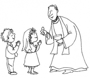 First Communion Practice