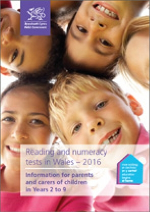 National Reading and Numeracy Tests in Wales - Info for Parents & Carers