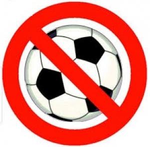 No Football Training