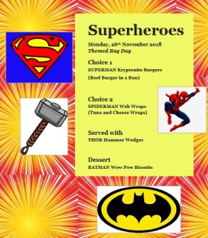Superheroes Bag Day