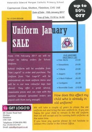 Uniform January Sale