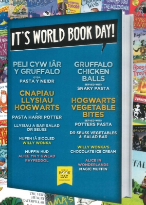 World Book Day - Menu Change