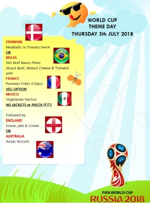 World Cup 2018 Theme Day